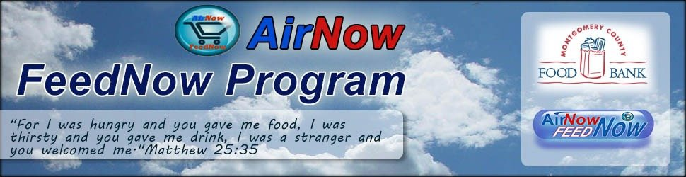 Help AirNow raise money for a food bank in Tomball TX
